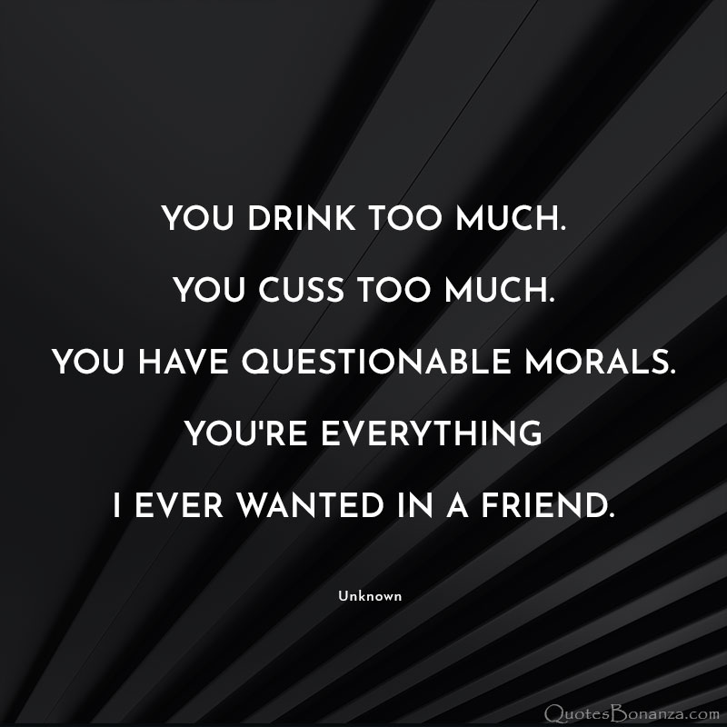 funny quotes about friends and friendship